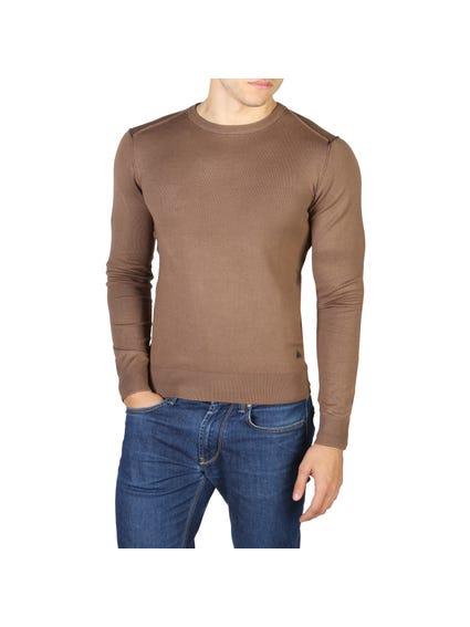 Brown Long Sleeve Knitwear