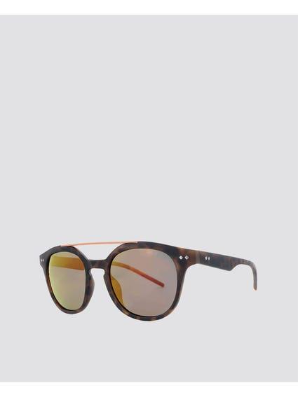 Printed Double Bridge Sunglasses