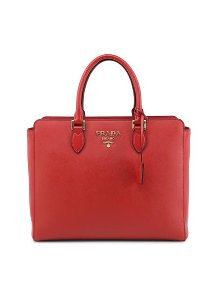 Leather Saffiano Handbag