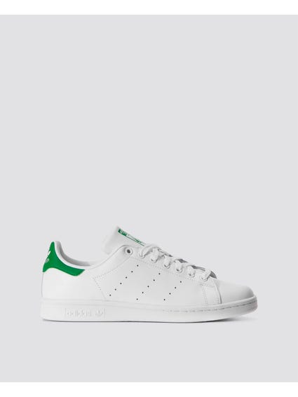 Dark Green Back Stan Smith Shoes