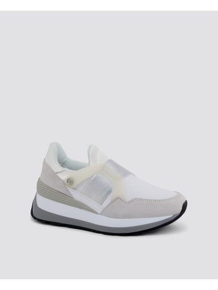 White Fla Two Tone Sneakers