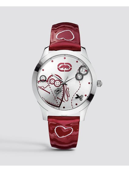 Silver Dial Party Watch