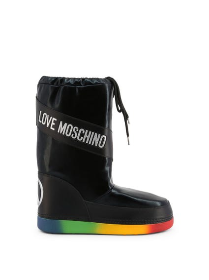 Black Rainbow Sole Boots