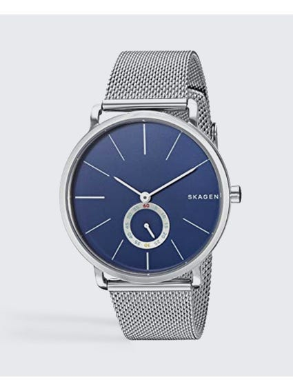 Silver Hagen Steel Mesh Watch