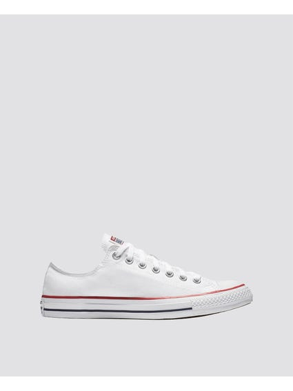 White Chuck Taylor All Star Low Top Optical Sneakers