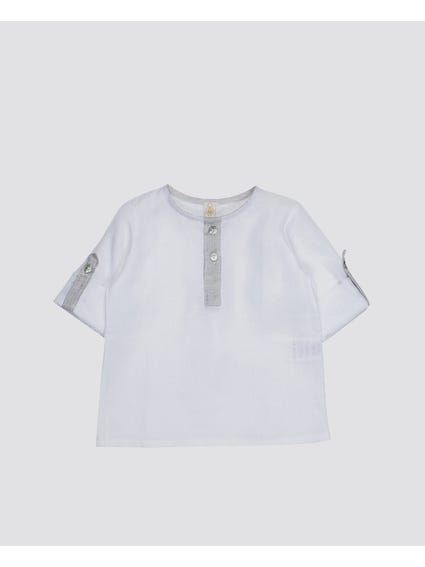 Front Button Kids Top