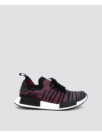 Black NMD R1 STLT Primeknit Shoes