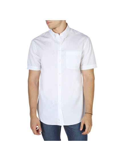 White Plain Short Sleeve Shirt