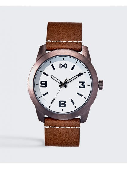White Dial Quartz Watch