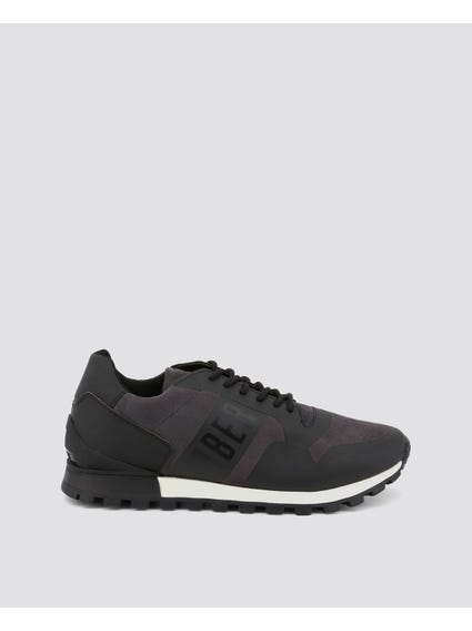 Dark Grey Fender Lace Up Shoes