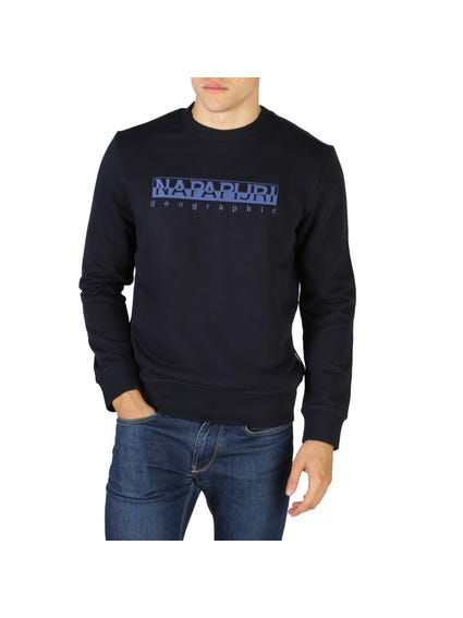 Navy Bebel Round Neck Sweatshirt