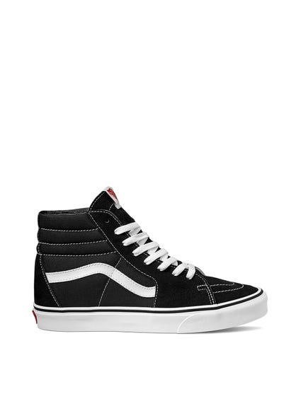 Black Suede High Cut Sneakers