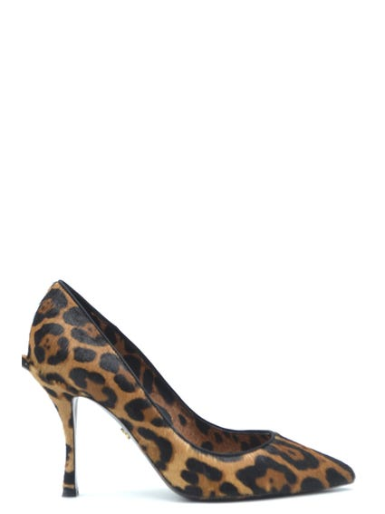 Pointed Toe Leopard Pumps
