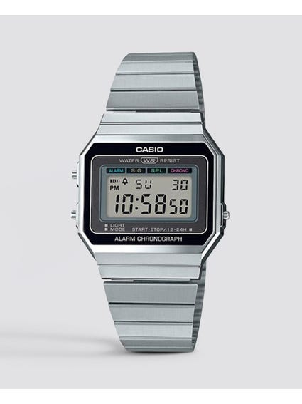Slim Vintage Digital Watch