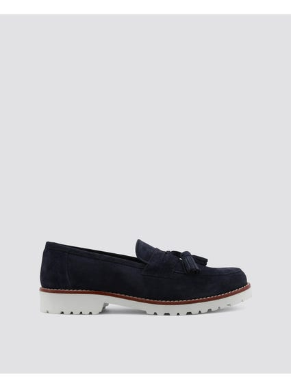 Blue Brividi Loafer