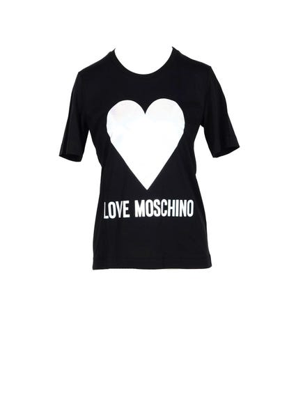 Round Neck Heart T-shirt