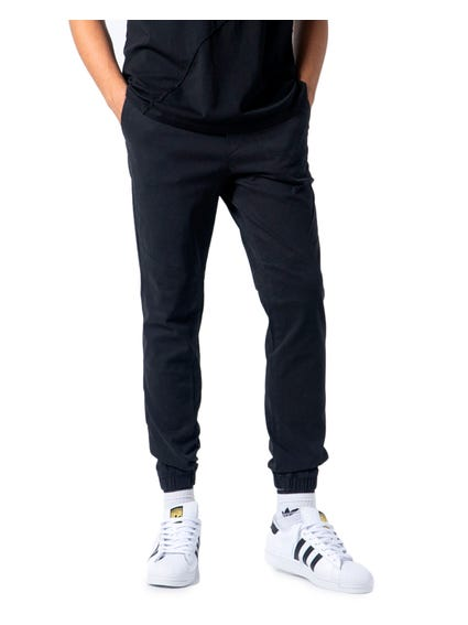 Pocket  Plain Jogger Pants
