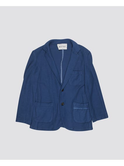 Blue Double Button Kids Blazer