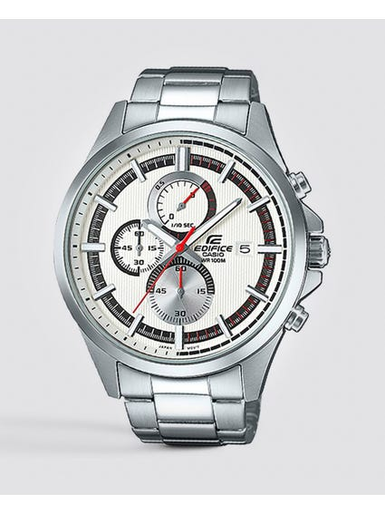 Chronograph Silver Stainless Steel Watch