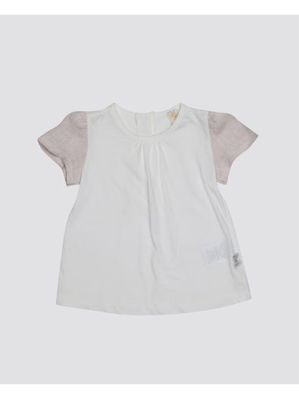 Back Button Kids Top
