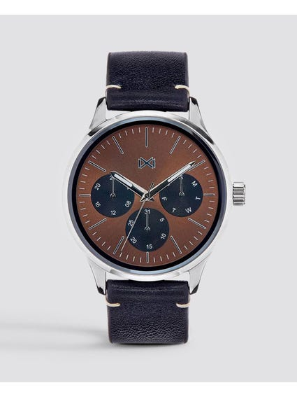 Brown Dial Analog Watch