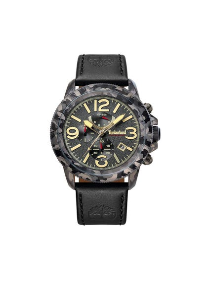 Camouflage Bezel Analog Watch