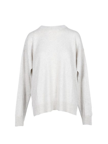 Button Long  Sleeve Knitwear