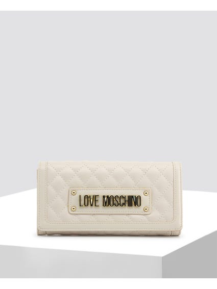 White Quilted Leather Bag