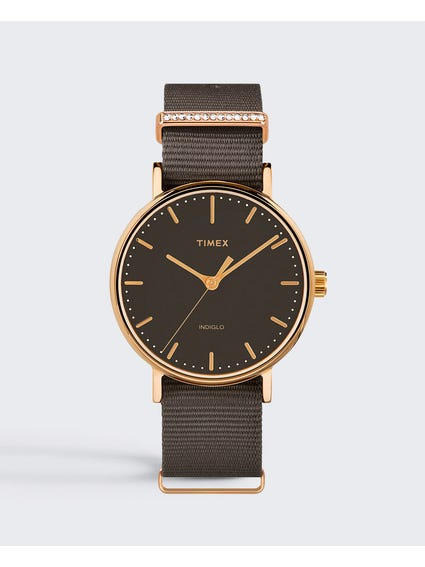 Weekender Fairfield Brown Analog Watch