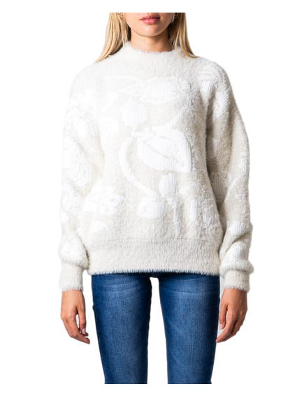 Embossed Long Sleeve Sweatshirt