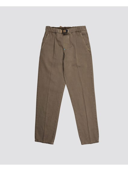 Plastic Buckle Kids Trouser