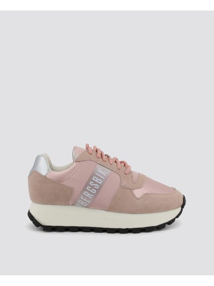 Pink Fender Leather Shoes