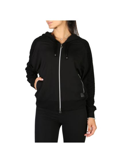 Black Hoodie Full Zipped Sweatshirts