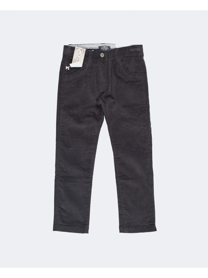 Black Casual Denim Kids Jeans