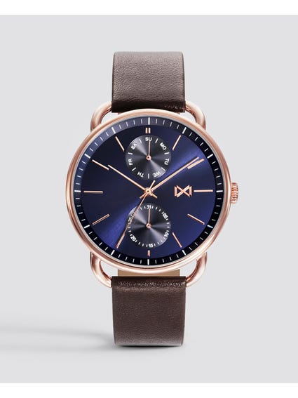 Blue Dial Chronograph Watch