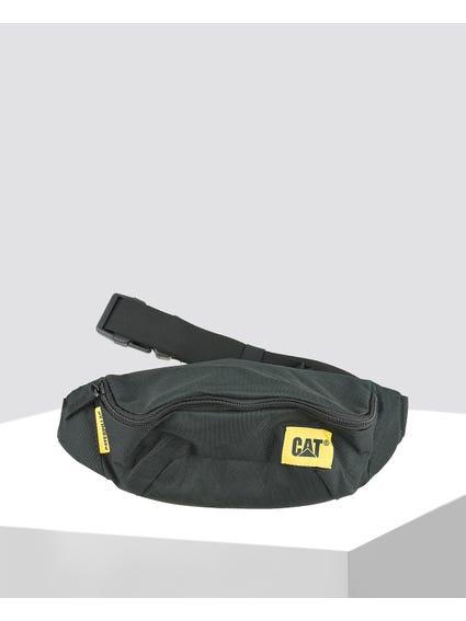 Black Belted Waist Bag