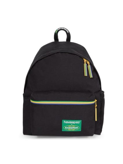 Contrast Zipper Backpack