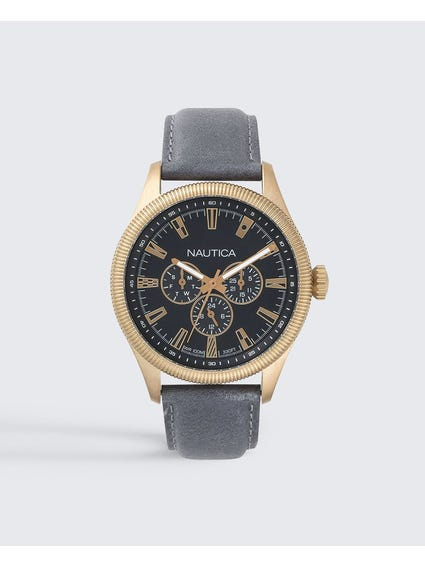 Starboard Black Dial Analog Watch