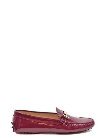 Buckle Patent Slip Ons Moccasins