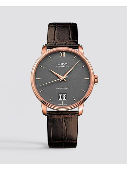 Brown Baroncelli Big Date Watch