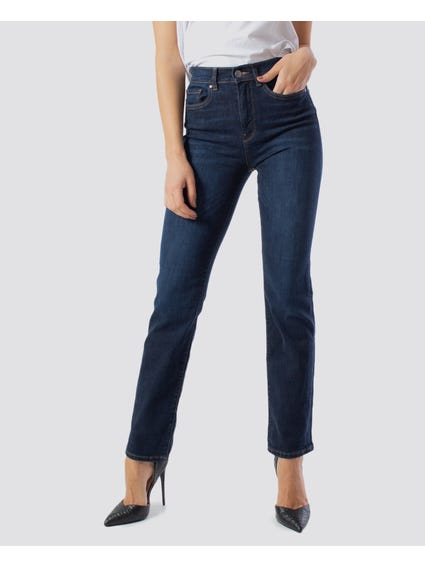 Pocket Zip Skinny Jeans