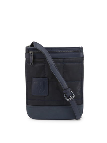 Blue Ticinese Strap Messenger Bag