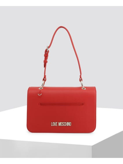 Red Delicate Leather Bag