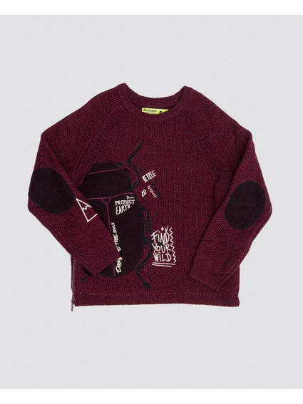 Be Free Knitted Kids Sweater