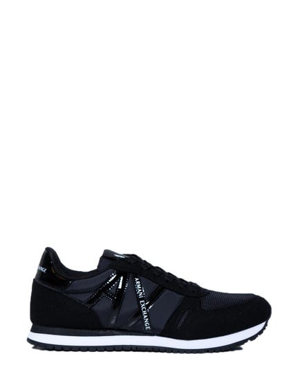 Black Lace AX Logo Sneakers
