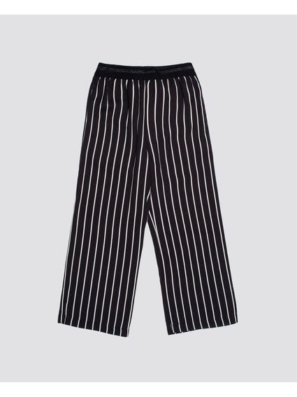 Black Stripe Kids Trouser