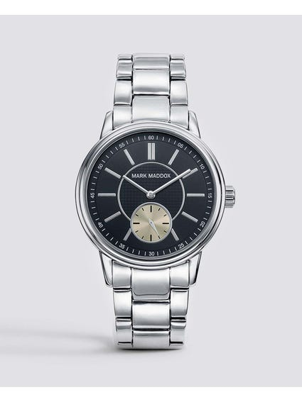 Metallic Bracelet Analog Watch