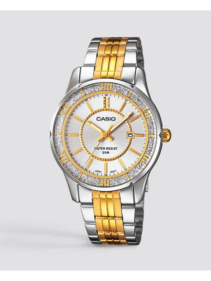 Stainless Steel Silver Dial Watch