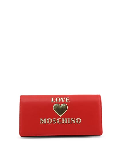 Red Love Clutch Bag