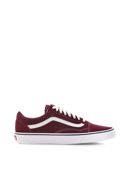 Red Old Skool Lace Sneakers